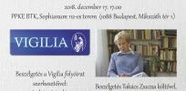 Karácsonyi kerekasztal-beszélgetés az Esztétika Tanszéken!